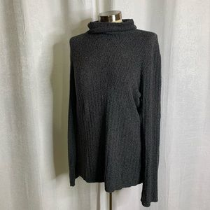 Croft and barrow heather gray turtleneck